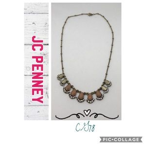 JC Penney Art Deco inspired necklace